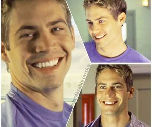 paul walker, smile, and joy ride image