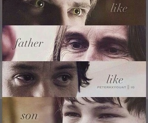 peter pan, henry, and once upon a time image