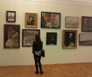 alone, art, and gallery image