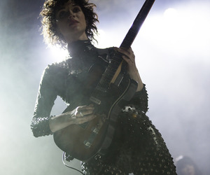 annie clark, guitar, and Hot image
