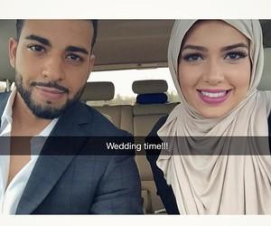 couple, mashallah, and love image