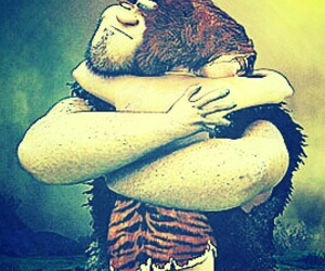 daughter, father, and the croods image