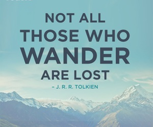 travel, lost, and quote image