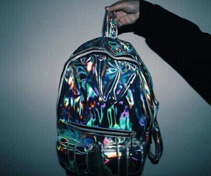 grunge, bag, and backpack image