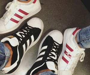 adidas, shoes, and star image