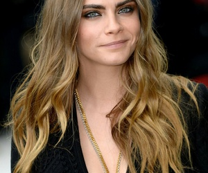 model, beauty, and cara delevingne image