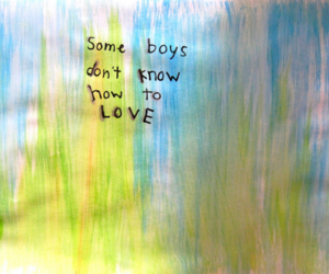 boys, colours, and quote image