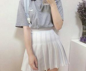 fashion, korea, and kfashion image