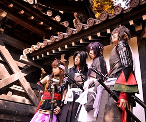 cosplay, hakuouki, and shinsengumi kitan image