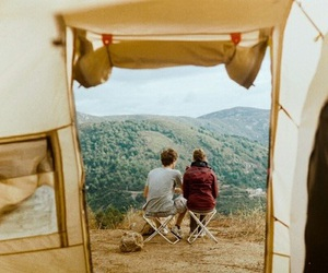 adventure, camping, and paradise image