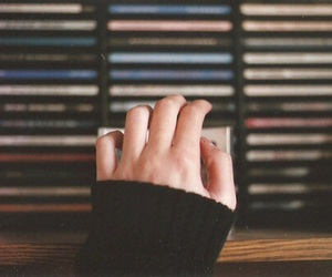 hand, vintage, and music image