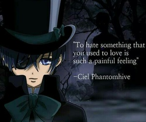 anime, black butler, and quotes image