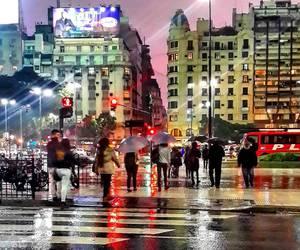 rain, sunset, and argentina. image
