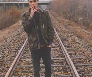 boy, smoke, and Hot image
