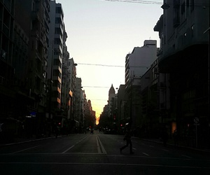 afternoon, montevideo, and sunset image