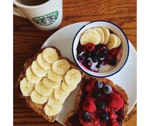 fashion, food, and starbucks coffee image