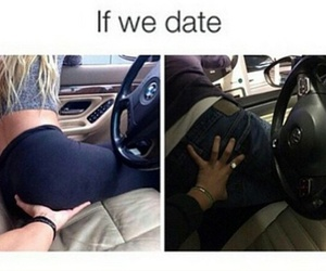 boy, date, and girl image
