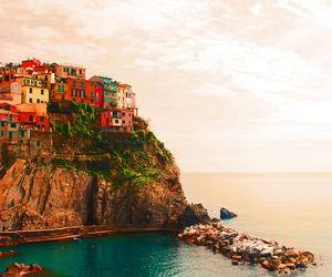 place, sea, and italy image