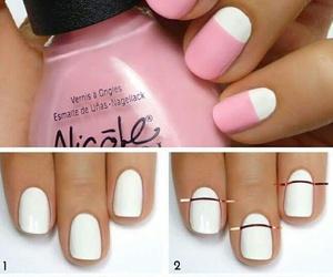 manicure, nail design, and nail art image