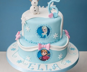 cake, frozen, and frozen cake image