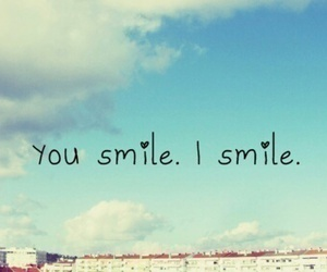 smile, you, and sky image