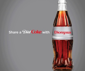 coke, percy jackson, and dionysus image