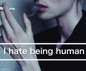 feeling, hate, and sad image
