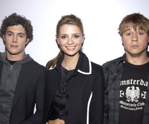 the oc, mischa barton, and adam brody image