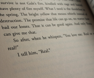book, hunger games, and real image