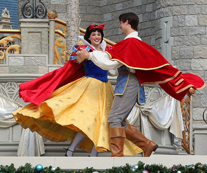 disney and snow white image