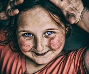 amazing, blue eyes, and child image