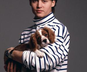 johnny depp, dog, and young image