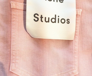 pink, fashion, and acne studios image