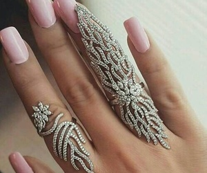 amazing, luxury, and nails image