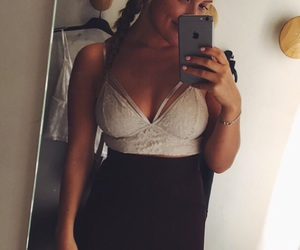 classy, girl, and clothing image