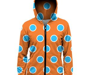 blue, orange, and dots image