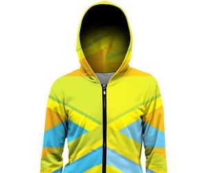 blue, hoodie, and yellow image