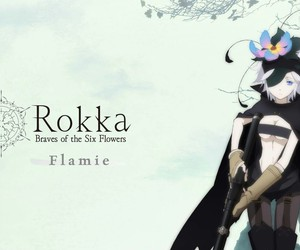 anime, rokka no yuusha, and flamie image