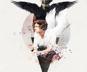 one direction, Harry Styles, and angel image