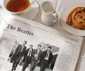 newspaper, the beatles, and beatles image