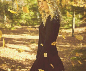 Taylor Swift, autumn, and leaves image
