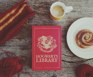 books, fall, and gryffindor image