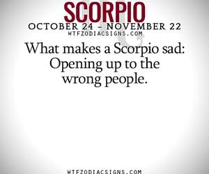horoscope, scorpio, and truth image