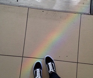 grunge, rainbow, and tumblr image