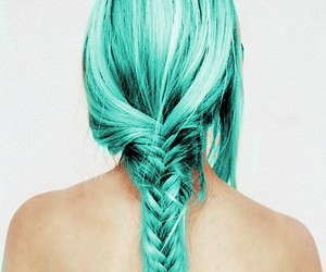 cheveux, tumblr da pandiinha, and Vert image
