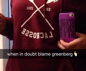 hoodie, greenberg, and iphone case image