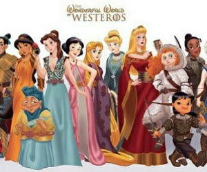 disney, princess, and game of thrones image