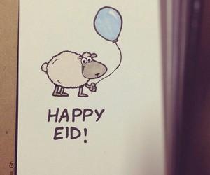 eid, happy, and muslim image