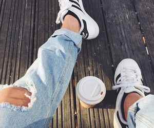 adidas, blue, and boyfriend image