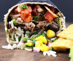 beef, burrito, and chipotle image